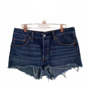 Levi's 501 Denim Cutoff Jean Shorts